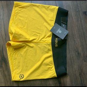 Virus Shorts - Virus Intl - Yellow Shorts - XL - NWT